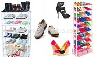 Sắp xếp giày dép thông minh, tiện lợi với kệ để giày 10 tầng