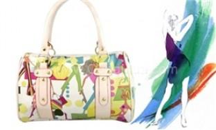 Túi xách hình cô gái Shopping nhiều màu sành điệu