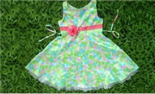 Xinh xắn & đáng yêu cho bé gái với Đầm hoa trẻ em xuất khẩu (2-4 tuổi) - 4 - Thời Trang và Phụ Kiện