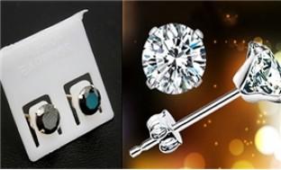 Combo 02 đôi khuyên tai nụ bằng bạc ta 92.5%, gắn đá cao cấp - 5 - Thời Trang và Phụ Kiện - Thời Trang và Phụ Kiện
