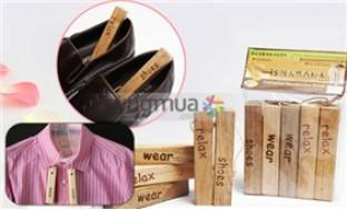 Combo 2 bộ gỗ long não mùi thơm tự nhiên khử mùi tiện dụng