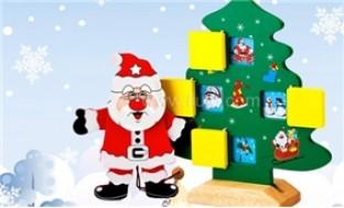 Bộ Cây Thông và Ông già Noel