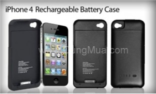 Case sạc iPhone 4 thiết kế mỏng, nhẹ, màu sắc trang nhã - 3 - Công Nghệ - Điện Tử
