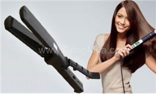 Cho mái tóc thẳng mượt như ý muốn ngay tại nhà với máy duỗi tóc JJ 218