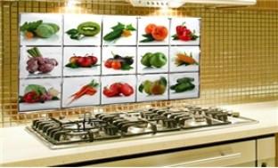 Combo 02 miếng giấy dán nhiệt trang trí nhà bếp 75cm x 45 cm - 1 - Gia Dụng