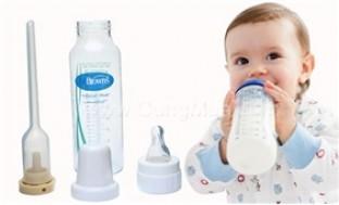 Bình sữa chống sặc Dr.Brown's 240ml - Du Lịch Trong Nước