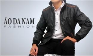 Áo khoác da cao cấp, lịch lãm, phong cách đầy nam tính