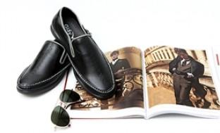 Giày lười và giày da dáng thể thao buộc dây cho nam thời trang
