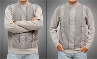 Áo len nam cổ cao, dài tay thời trang, lịch lãm