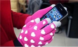 Găng tay cảm ứng nam, nữ - Sành điệu cùng điện thoại cảm ứng