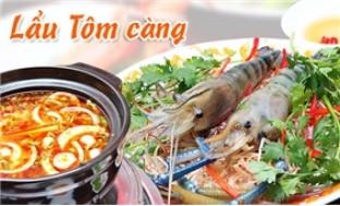 Lẩu Tôm càng - NH Nàng Cua