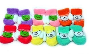 Combo 02 đôi Găng tay hình thú dễ thương cho bé - ấm áp và thời trang - Thời Trang và Phụ Kiện