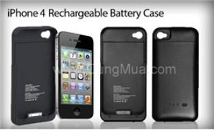 Case sạc iPhone 4 thiết kế mỏng, nhẹ, màu sắc trang nhã - 4 - Công Nghệ - Điện Tử
