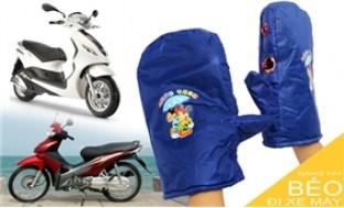 Găng tay béo đi xe máy - ẤM ÁP TIỆN LỢI trong mùa đông giá rét