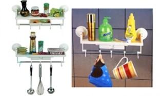 Tiết kiệm không gian với bộ treo đồ nhà bếp và phòng tắm