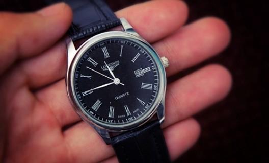 Đồng hồ nam dây da thời trang - Lịch lãm, sang trọng - 1 - Thời Trang và Phụ Kiện