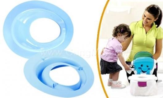 Ghế lót ngồi toilet giúp bé có thói quen đi vệ sinh như người lớn