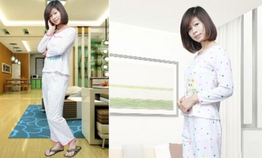 Bộ đồ ngủ cotton dài tay, họa tiết chấm bi cho các bạn gái - 1 - Thời Trang và Phụ Kiện - Thời Trang và Phụ Kiện