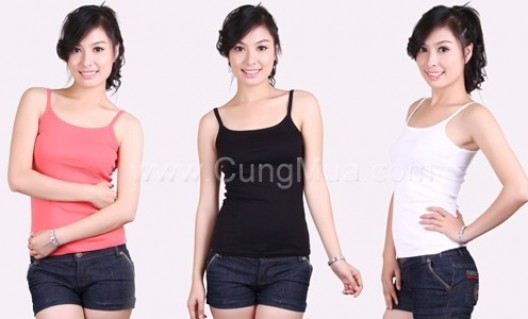 Combo 02 áo hai dây sành điệu, trẻ trung, 7 sắc màu rực rỡ - 1 - Thời Trang và Phụ Kiện