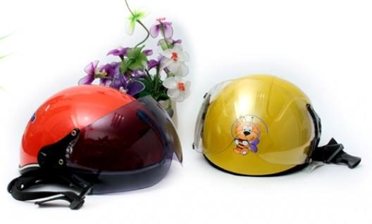 Mũ bảo hiểm trẻ em - Bảo vệ bé yêu trên từng chặng đường