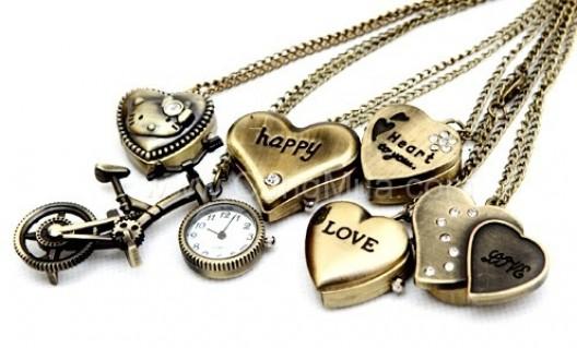 Đồng hồ dây chuyền cổ điển cá tính và phong cách