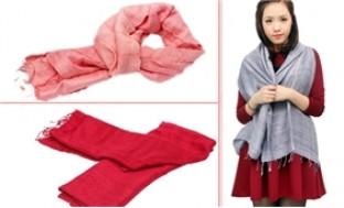 Khăn đũi tơ tằm cao cấp cho bạn gái rạng rỡ và quyến rũ hơn - 1 - Thời Trang và Phụ Kiện - Thời Trang và Phụ Kiện