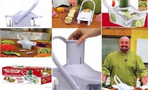 Dụng cụ cắt hoa quả đa năng Slice O Matic tiện dụng, nhỏ gọn