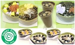 Chỉ với 32.000đ được thưởng thức 2 chén chè Đài Loan tại Sweet Fresh