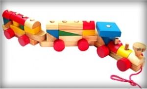 Bé phát triển tư duy với Đồ chơi Tàu hỏa lắp ráp bằng gỗ Edugames