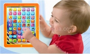 Ipad điện tử giúp bé vừa chơi vừa học tiếng Anh một cách hiệu quả