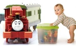 Mô hình tàu lửa đồ chơi T-16 Harvey thương hiệu Thomas & Friends