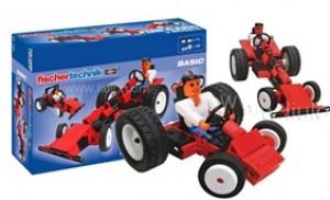 Đồ chơi lắp ráp xe Fun Cars Fishcertechnik phát triển trí tuệ của bé