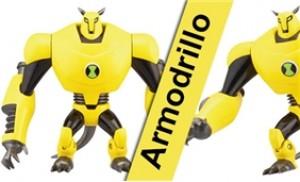 """Mô hình siêu nhân 4"""" Armodrillo trong bộ phim hoạt hình Ben 10"""