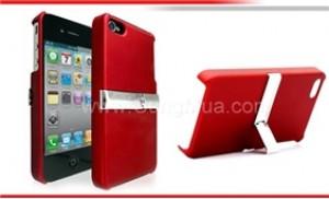 Case cho Iphone4 có đế: biến iPhone4 thành một truyền hình di động