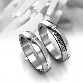 Nhẫn đôi bạc ta cho nam và nữ