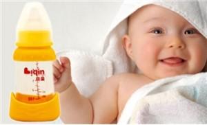 Bình sữa thủy tinh cổ rộng 150ml thương hiệu Liqin (Nhật Bản)