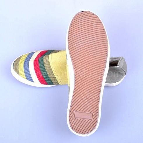 Giày vải cầu vồng cho nữ (phiếu)