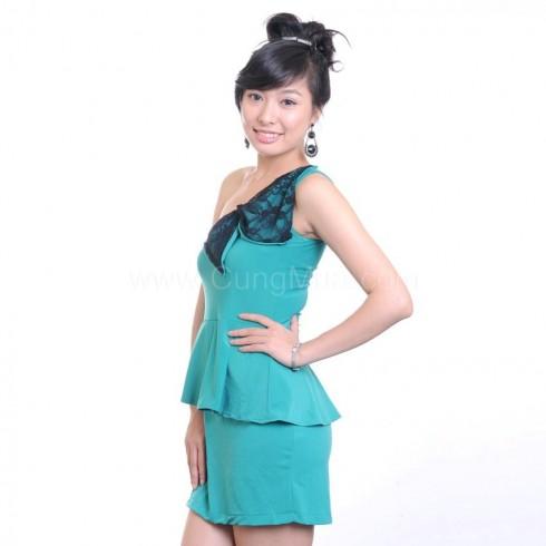 Đầm dạ hội nơ lớn