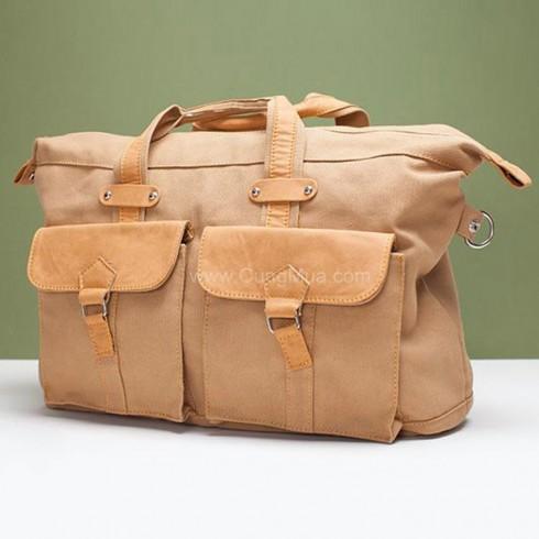 Túi xách du lịch vải bố - Thời Trang Nam