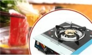 Bếp gas đơn mặt kính Homelystar - Giải pháp tối ưu cho việc nội trợ