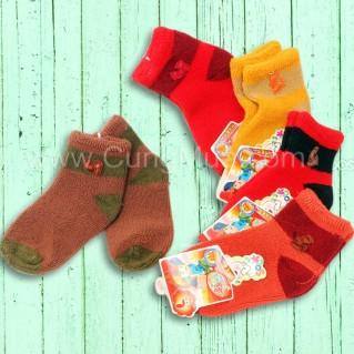 Combo 05 đôi tất xù cho bé từ 1-6 tuổi
