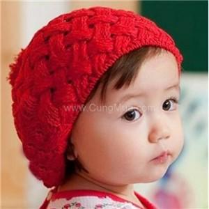 Nón len bánh tiêu cho bé - Thời Trang Nam