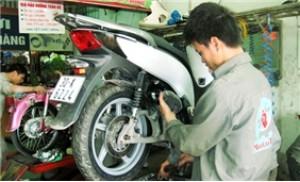 Gói dịch vụ bảo dưỡng toàn bộ xe máy tại cửa hàng MotorTech