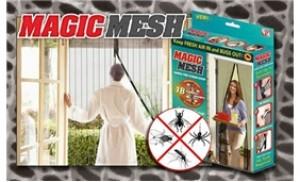 Rèm cửa chống muỗi Magic Mesh bảo vệ ngôi nhà khỏi côn trùng