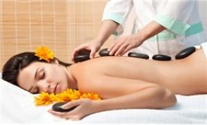 Massage đá nóng toàn thân tại Beauty Salon Angel