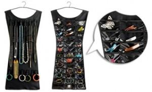 Dụng cụ treo đồ trang sức Hanging Jewelry Organizer hình chiếc váy - 1 - Gia Dụng