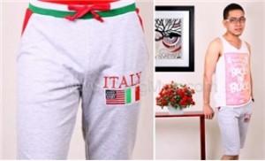 Trẻ trung, thoải mái với quần lửng nam kiểu dáng thể thao - 1 - Thời Trang và Phụ Kiện
