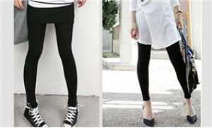 Xuống phố cùng quần Legging màu đen - Phong cách trẻ trung, năng động