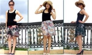 Thay đổi diện mạo mỗi ngày với váy hoa ngang gối Avarta