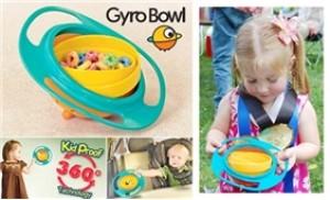 Bát thông minh Gyro Bowl - không lo bé làm đổ thức ăn ra ngoài